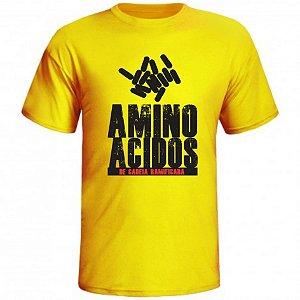 Camiseta Aminoácidos de Cadeia Ramificada