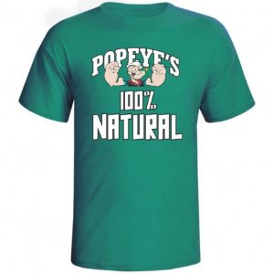 Camiseta Popeyes 100% Natural