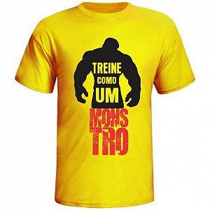 Camiseta Treine como um Monstro