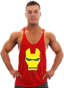 Regata Super Cavada Homem de Ferro