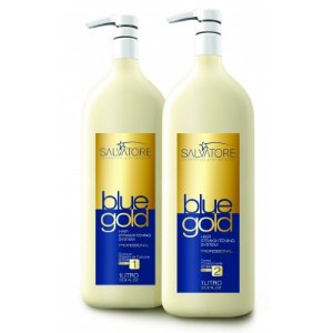 Progressiva Salvatore Blue Gold 0% de Formol ORIGINAL 2x1L.