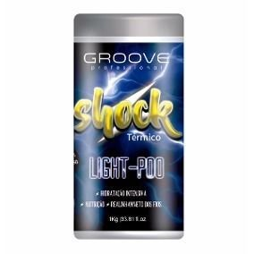 Groove Professional| Máscara Shock Térmico Light-Poo 1Kg
