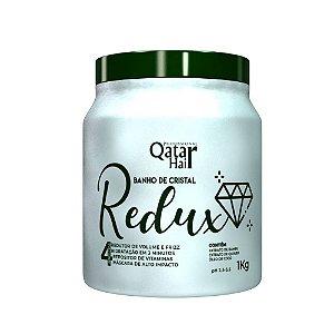 Máscara Banho de Cristal Redux (Quiabo) 1kg - Qatar Hair
