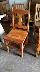 Cadeira de madeira - Peroba Rosa / Madeira Maciça!