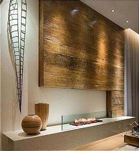 Painel De Madeira De Demolição - 100% madeira maciça! Preço Por M2