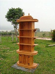 Estante estilo oriental de Peroba Rosa