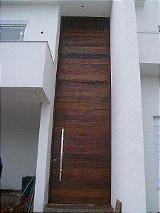 Porta Gigante pivotante De Peroba Rosa - Valor Por Metro Quadrado