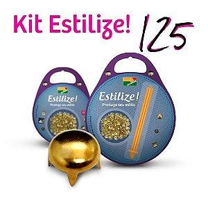 KIT Estilize 125 - Abaulado (125 Tachas + Aplicador)