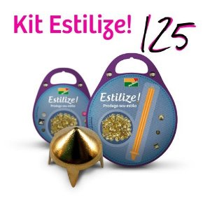 KIT Estilize 125 - Spike (125 Tachas + Aplicador)