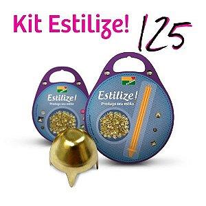 KIT Estilize 125 - Tambor (125 Tachas + Aplicador)