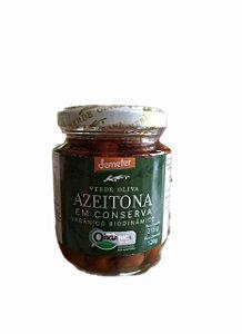 Azeitonas Orgânicas Em Conserva - Verde Oliva - 215g