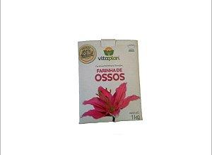 Farinha De Osso - Fertilizante Mineral Simples-Vitaplan 1kg