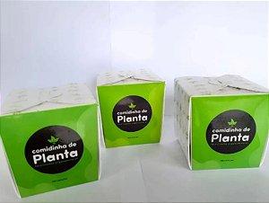 Comidinha De Planta - Fertilizante Organomineral - 100 Cápsulas