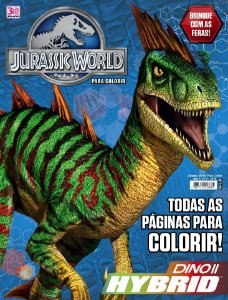 JURASSIC WORLD PARA COLORIR - 2 (2016)