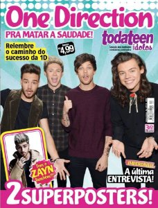 TODATEEN ÍDOLOS - 20 ONE DIRECTION (2016)