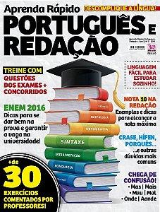 APRENDA RÁPIDO PORTUGUÊS E REDAÇÃO - 3 (2016)