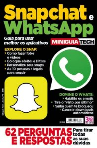 MINIGUIA TECH - 6  SNAPCHAT E  WHATSAPP (2016)