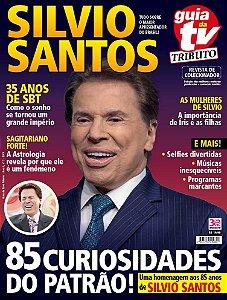 GUIA DA TEVÊ TRIBUTO 7 - SILVIO SANTOS (2016) RELEITURA