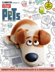 PETS - A VIDA SECRETA DOS BICHOS REVISTA DE PINTURAS - 1 (2016)