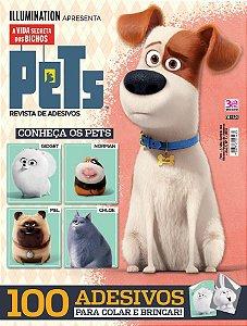PETS - A VIDA SECRETA DOS BICHOS REVISTA DE ADESIVOS - 1 (2016)