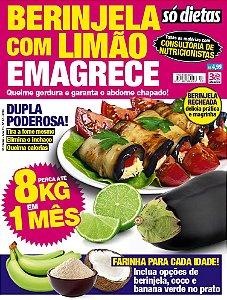 SÓ DIETAS - 57 BERINJELA COM LIMÃO EMAGRECE (2016)