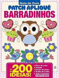 GUIA DE OURO PATCH APLIQUÊ BARRADINHOS - 3 (2016)