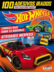 HOT WHEELS REVISTA DE ADESIVOS - 1 (2016)