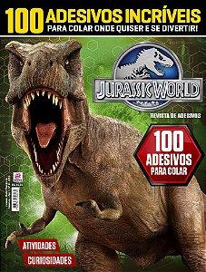 JURASSIC WORLD REVISTA DE ADESIVOS - EDIÇÃO 2 (2016)