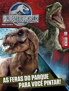 JURASSIC WORLD PARA COLORIR - EDIÇÃO 4 (2016)