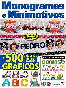 MONOGRAMAS E MINIMOTIVOS - EDIÇÃO 2 (2016)