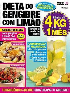 DIETA DO GENGIBRE COM LIMÃO - EDIÇÃO 1 (2016)