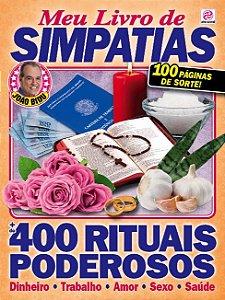 MEU LIVRO DE SIMPATIAS - EDIÇÃO 3 (2016)