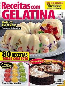 RECEITAS COM GELATINA - EDIÇÃO 1 (2016)