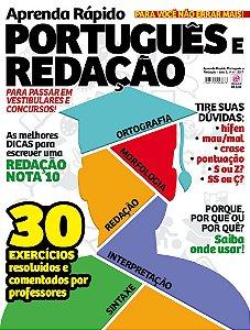 APRENDA RÁPIDO PORTUGUÊS E REDAÇÃO - EDIÇÃO 4 (2017)
