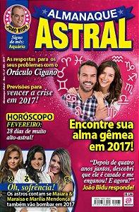 ALMANAQUE ASTRAL - EDIÇÃO 168 - FEVEREIRO 2017