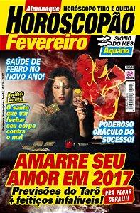 ALMANAQUE HOROSCOPÃO - EDIÇÃO 168 - FEVEREIRO 2017