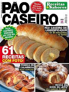 RECEITAS & SABORES - EDIÇÃO 25 - PÃO CASEIRO (2017)