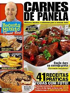 RECEITA MINUTO DANIEL BORK - EDIÇÃO 18 - CARNES DE PANELA (2017)