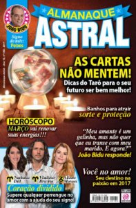 ALMANAQUE ASTRAL - EDIÇÃO 169 - MARÇO 2017