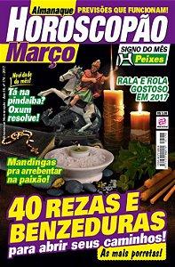 ALMANAQUE HOROSCOPÃO - EDIÇÃO 176 - MARÇO 2017