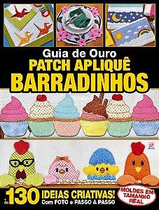 GUIA DE OURO PATCH APLIQUÊ BARRADINHOS - EDIÇÃO 4 (2017)