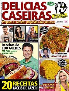GUIA DA TV COZINHANDO COM OS FAMOSOS - EDIÇÃO 1 (2017)