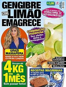 GENGIBRE COM LIMÃO EMAGRECE - EDIÇÃO 2 (2017)