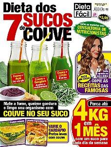 DIETA FÁCIL - EDIÇÃO 19 - DIETA DOS 7 SUCOS DE COUVE (2017)