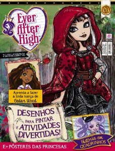 EVER AFTER HIGH PASSATEMPOS - EDIÇÃO 3 (2017)