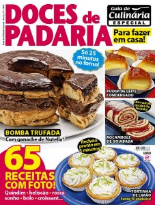 GUIA DE CULINÁRIA ESPECIAL - EDIÇÃO 11 - DOCES DE PADARIA (2017)