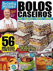 RECEITA MINUTO - EDIÇÃO 21 - BOLOS CASEIROS (2017)