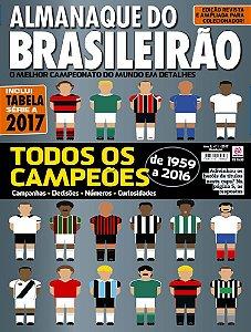 ALMANAQUE DO BRASILEIRÃO - EDIÇÃO 1 - BRASILEIRÃO 2017