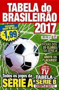 TABELA DO BRASILEIRÃO - EDIÇÃO 5 - BRASILEIRÃO 2017