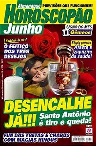 ALMANAQUE HOROSCOPÃO - EDIÇÃO 179 - JUNHO 2017